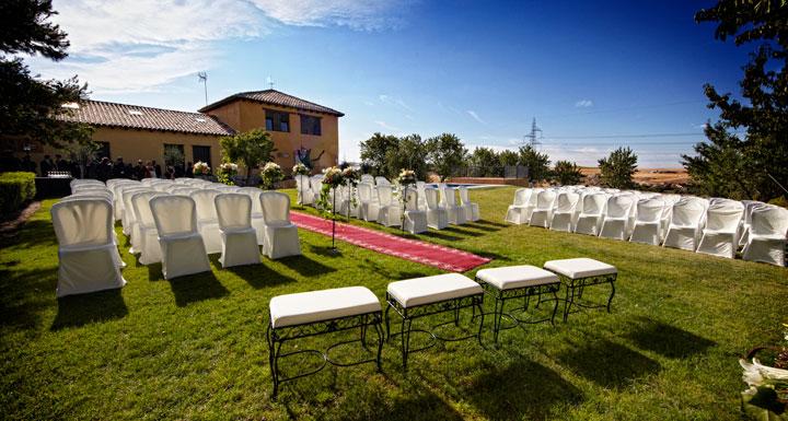 boda civil la Leyenda