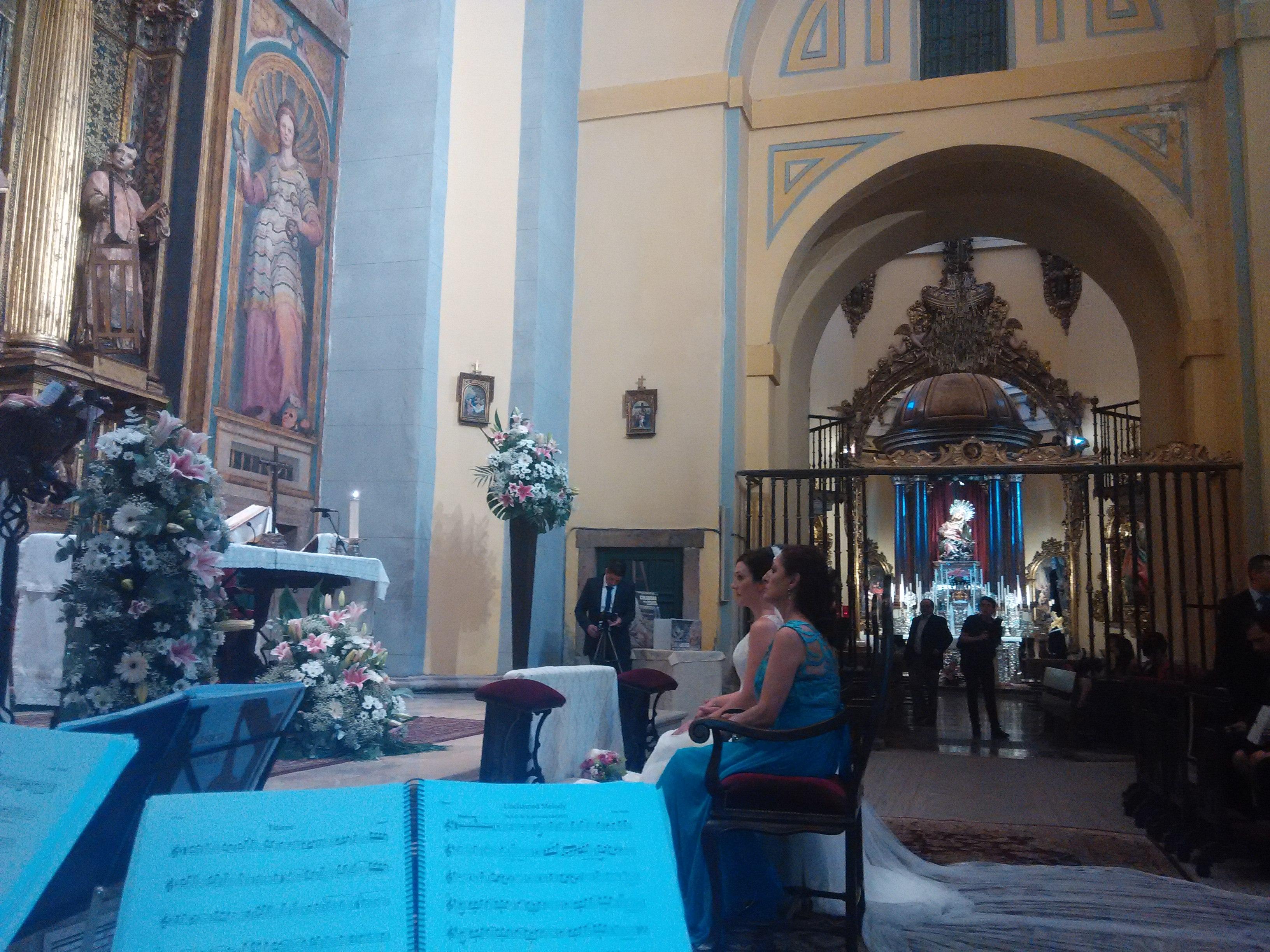 Boda en la Iglesia de las Angustias Valladolid