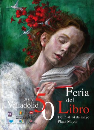 Cartel Feria Libro Valladolid